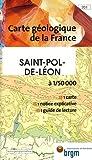 echange, troc Cartes BRGM - Carte géologique : St-Pol-de-Léon