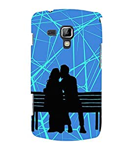 Kiss in Public Kissing Cute Fashion 3D Hard Polycarbonate Designer Back Case Cover for Samsung Galaxy S Duos S7562