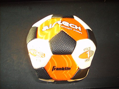 Franklin Air Tech Sport Foam Soccer Ball, Official Size 1, Colors May Vary (Airtech Football compare prices)