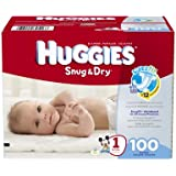 Huggies Snug & Dry Diapers, Size 1, 100 Count