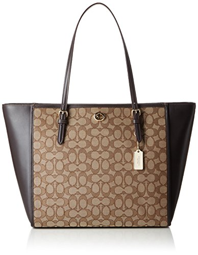 coach-turnlock-tote-sacs-portes-epaule-femme-marron-braun-li-khaki-brown-43x28x14-cm-b-x-h-x-t
