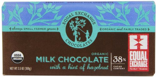 Equal Exchange Organic Milk Chocolate, 3.5-Ounce (Pack Of 6)