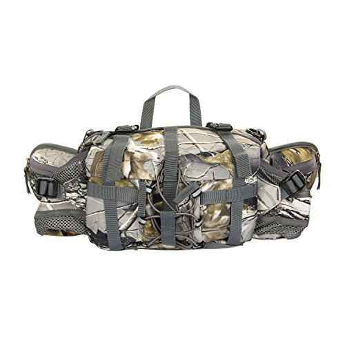 Accmart Waterproof Fanny Waist Pack Bag for Outdoor Sports Hiking Camping Riding Travelling Camouflage (Hunting Waist Pack compare prices)