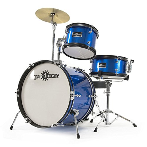 junior-3-piece-drum-kit-by-gear4music-blue