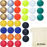 Set of 3 Jac Products Pro Thud Juggling Balls (UK Made) & Cotton Travel Bag (Solid Colour Variations) (Red)
