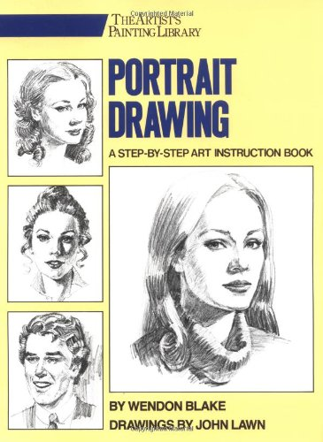 Portrait Drawing: A Step-by-step Art Instruction Book (Artists Library)