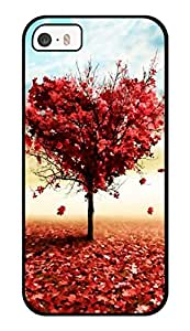 """Humor Gang Heart Tree In Spring Printed Designer Mobile Back Cover For """"Apple Iphone 5-5s"""" (3D, Glossy, Premium Quality Snap On Case)"""