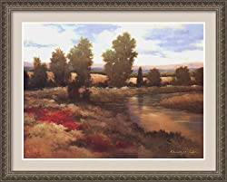 Warm Spring I Framed Print by Kanayo Ede Framed