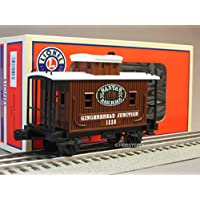 Lionel Gingerbread Junction Bobber Caboose Train 6 30219 Car 6 25927 New