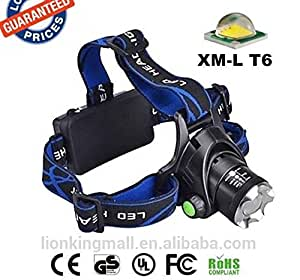 Ultra-Bright CREE 3W Head Lamp 160 Lumen - Zoom Beam Function