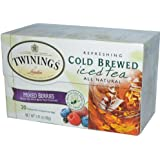 Twinings Cold Brewed Iced Tea Mixed Berries -- 20 Tea Bags