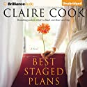 Best Staged Plans: A Novel (       UNABRIDGED) by Claire Cook Narrated by Janet Metzger