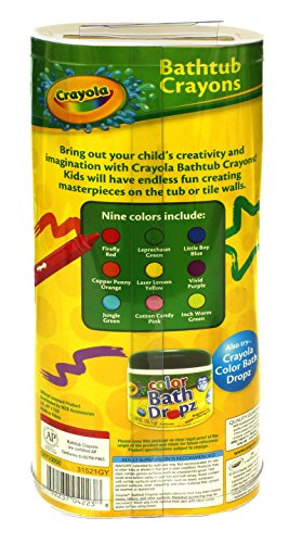 Play Visions Crayola Bathtub Crayons 9 Count