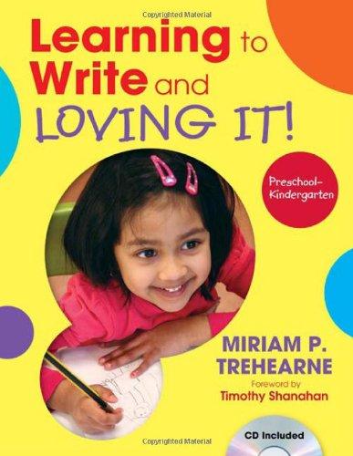 Learning To Write And Loving It! Preschool-Kindergarten front-985437