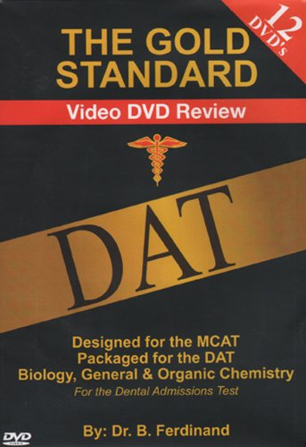 Gold Standard Video DAT Science Review (12 DVDS)