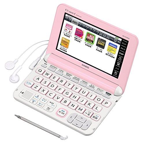 カシオ 電子辞書 エクスワード 中学生モデル XD-K3800PK ピンク コンテンツ160