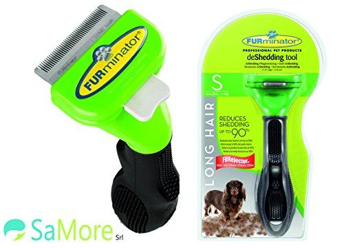 FURminator S pettine spazzola cani di 4,5-9 kg pelo lungo superiore ai 5 cm