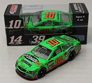 Buy 2013 Danica Patrick #10 Godaddy.com Domains Irish St. Patricks Day 1 64 Diecast Kids Hardtop Lnc by Action