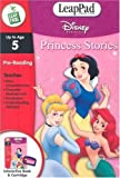 LeapFrog LeapPad Educational Book: Disney Princess Stories. BOOK and CARTRIDGE that are only for the Original Leappad learning system, not compatible with the Leappad Explorer Tablet.