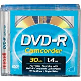 Maxell DVD-R CAM/SONY/3PK 3DVD-R Removable Disc In Jewel Box for Sony DVD Camcorders