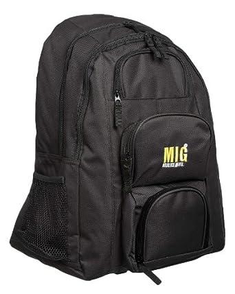Mens Large Black Backpack Rucksack Bag for Travel Work Camping Sports School Fishing