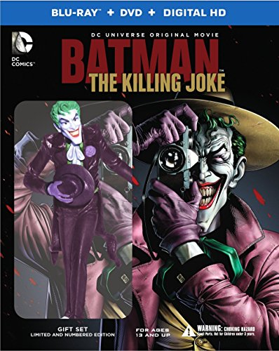 Batman: The Killing Joke Deluxe Edition (Blu-ray/DVD/UV)