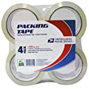 LePage's USPS MS1 Storage Tape 2 inches x 55 yards , 4 Pack (82304)