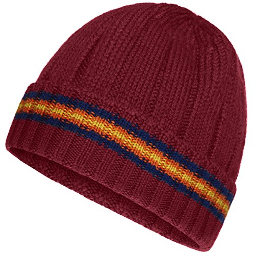 Cappellino - Brice Wool Stripes - Bambini - Red Scarlet - 54