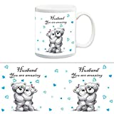 TIA Creation Husband You are amazing Gift Mug, Best for Everyday Gifts