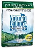 Natural Balance Limited Ingredient Diets, Lamb Meal and Brown Rice , 28 Pound Bag