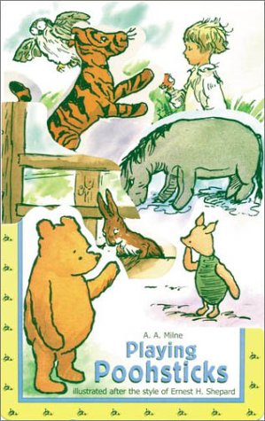 Playing Poohsticks (Pooh Graduated Die-Cut Chunky Books)