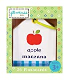 C.R. Gibson Objects English/Spanish Ring Flash Cards by Jill McDonald Kids