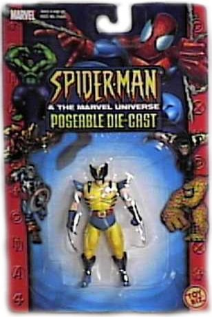 "Spider-Man & The Marvel Universe: Poseable Die-Cast ""The Beast"" Figure"