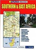echange, troc Atlas Map Sudio - Atlas routiers : Afrique du Sud et de l'Est - Southern and East Africa (en anglais)