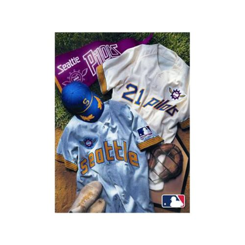 Mlb Seattle Pilots Vintage 8X10 Canvas front-924844