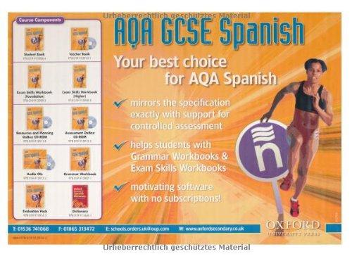 aqa spanish coursework