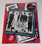 One Direction 2 Folder Portfolio Set with mini poster