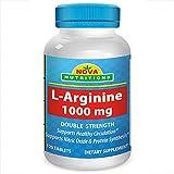 L-Arginine 1000 mg 120 Tablets by Nova Nutritions