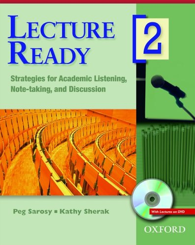 Lecture Ready 2 Student Book with DVD: Strategies for...