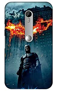 iessential batman Printed Case for Moto G 3rd Generation