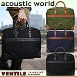 va-aw00701_aco 国産acoustic world(アコースティックワールド) aw00701 ベンタイル 男女兼用 メンズ レディース ブリーフケース レザー 革 Amazon限定 オリジナルモデル