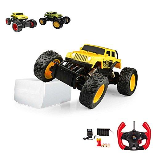 RC ferngesteuerter Off-Road Rock Crawler Buggy Monstertruck Truck, Truggy, Fahrzeug im Modell, Auto, 1:18 Maßstab RTR inkl. Fernsteuerung, Akku und Ladegerät