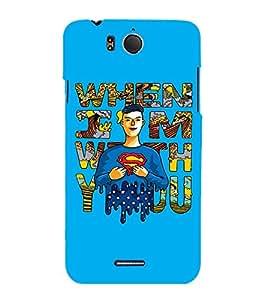 EPICCASE Superheros love Mobile Back Case Cover For InFocus M530 (Designer Case)