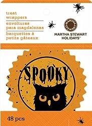Bulk Buy: Martha Stewart Cupcake Wrappers 48/Pkg Classic Halloween (6-Pack)