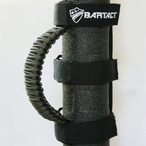 Bartact TAOGHUPBG - Roll Bar Paracord Grab Handles (PAIR) - BLACK/GRAPHITE (Roll Bar Grab Handle compare prices)