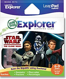 LeapFrog - Leapster Explorer - Star Wars : The Clone Wars - Version Anglaise (Import Royaume Uni)