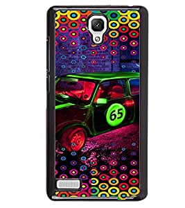 PRINTVISA Abstract Car Pattern Case Cover for Xiaomi Redmi Note::Xiaomi Redmi Note 4G
