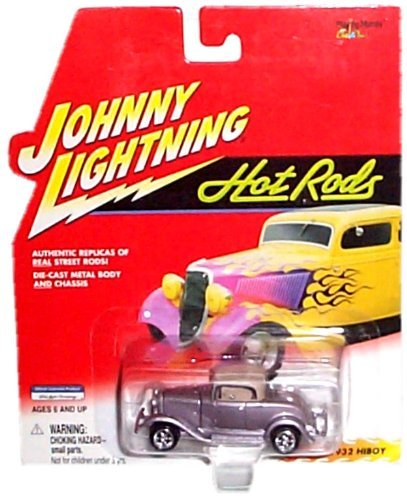 Johnny Lightning - Hot Rods - 1932 HiBoy (Metalflake Silver) Replica