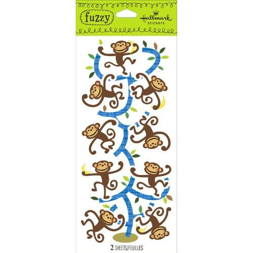 Hallmark Stickers Monkeys - 1