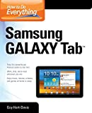 How to Do Everything Samsung Galaxy Tab (0071771093) by Hart-Davis, Guy